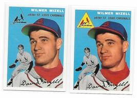 1954 Topps Archives St. Louis Cardinals Wilmer Mizell #249 Gold & Regular 2Cards - $1.29