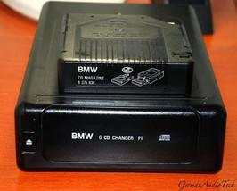 BMW OEM 6 CD CHANGER PLAYER + MAGAZINE E31 E34 E36 E38 740i 840i DSP 651... - $197.01