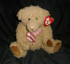 Vintage 1994 Ty Ruffles The Teddy Bear # 5014 Brown Stuffed Animal Plush Toy Tag - $14.03