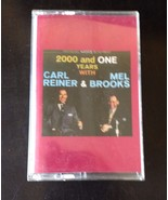 Carl Reiner & Mel Brooks 2000 And One Years Audio Cassette Tape Volume 2 - $5.00