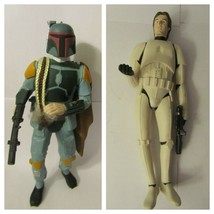Star Wars Applause Figures Boba Fett and Han Solo 1996 - $10.00