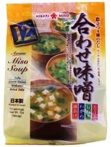 Hikari Instant Miso Shiru Soup Variety Packs,  with ingredients 7 oz - $8.99