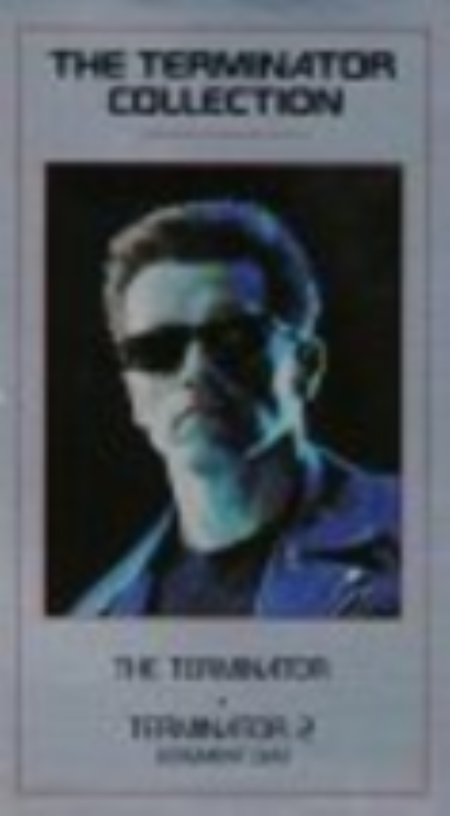 Terminator Collection (1 & 2) Vhs