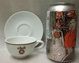ROSENTHAL MID-CENTURY Espresso CUP SAUCER SET of 4 circa 1950s Restauran... - $24.74