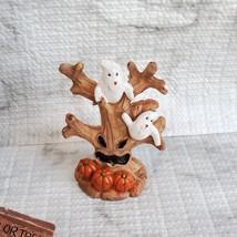 Cemetery Fairy Garden Kit, Miniature Halloween Village Set, Grim Reaper Ghost image 6