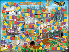 Candy Land Willy Wonka & the Chocolate Factory Limited Ed. Board Game Sealed OOP image 4
