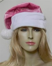 Santas Claus Hat Cap Pink * New *  Adult Christmas Ms Claus Hot Womens O... - $14.49