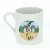 Tintin and Haddock Moulinsart Petit Dejeuner porcelain mug in gift box
