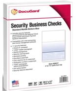 "New DocuGard Standard Green Marble Top Check 8.5""x11"" 500 Sheets 24lb 04502 - $20.80"