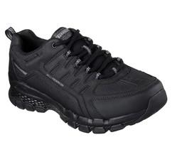 51585 Negro Skechers Zapatos Hombre Aire Espuma Viscoelástica Senderismo... - $39.98