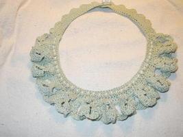 Cuffs & Neckpiece set - Pearls and Lace   image 3