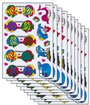 A168 VALUEPACK 10X Fish Dolphin Kindergarten Craft Sticker 27x18cm/10x7inch - $16.99