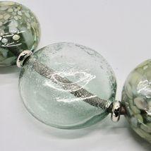 Necklace Antique Murrina Venezia with Discs Large of Murano Glass COA75A34 image 6