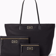 Kate Spade blake avenue nylon margareta and large & small drewe (Black) - ₨18,365.40 INR