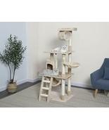 Go Pet Club 62-Inch Cat Tree Beige - $90.71