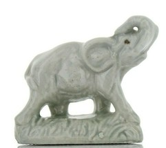 Elephant Miniature Porcelain Animal - Whimsie-Land by Wade
