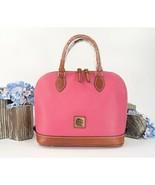 Dooney & Bourke Bubble Gum Leather Zip Zip Dome Large Satchel Bag NWT - $207.41