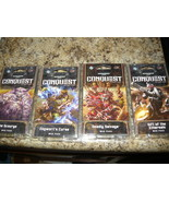 Warhammer 40,000: Conquest LCG WAR PACK COLLECTION 4 WAR PACKS! lot of 4  A - $27.98