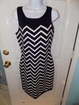 Lauren Ralph Lauren Blue/White Chevron Knit Sweater Dress Size S Women's... - $70.00