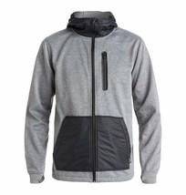 New DC Men's United Full-Zip Fleece Technical Hoodie - Size M -  Winter 17 - $71.23