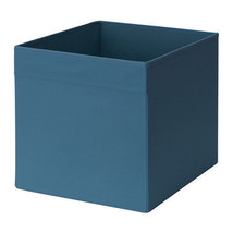 IKEA DRONA Storage Organizer Box with Handles, Dark Blue, Fits Kallax - ... - $45.53