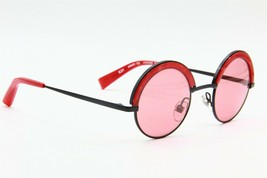 NEW ALAIN MIKLI A 04003 1055/84 RED BLACK AUTHENTIC SUNGLASSES A04003 46-25 - $336.60