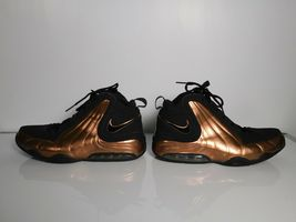 Nike Air Max Wavy Mens Basketball Shoes University Training Brown black Sz 10.5 image 5