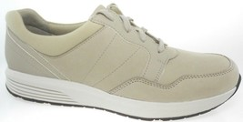 Rockport Ts W Tie Women's Taupe Comfort Walking Leather Sneaker, CG8956 - $79.99