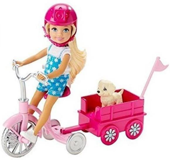 Primary image for Barbie Chelsea & Pup Mobile Playset
