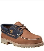 Men Shoes Timberland Limited Release 3-eye Classic White Oak Denim Lug - $127.15