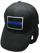 Thin Blue Line Low Profile Police Cap Law Enforcement Hat Police Lives Matter - $21.77
