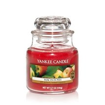 Yankee Candle Macintosh Small Jar Candle, Fruit Scent - $14.99