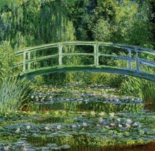 The Japanese Bridge (The Water-Lily Pond) Claude Monet 1897-1899 - Poste... - $19.95+