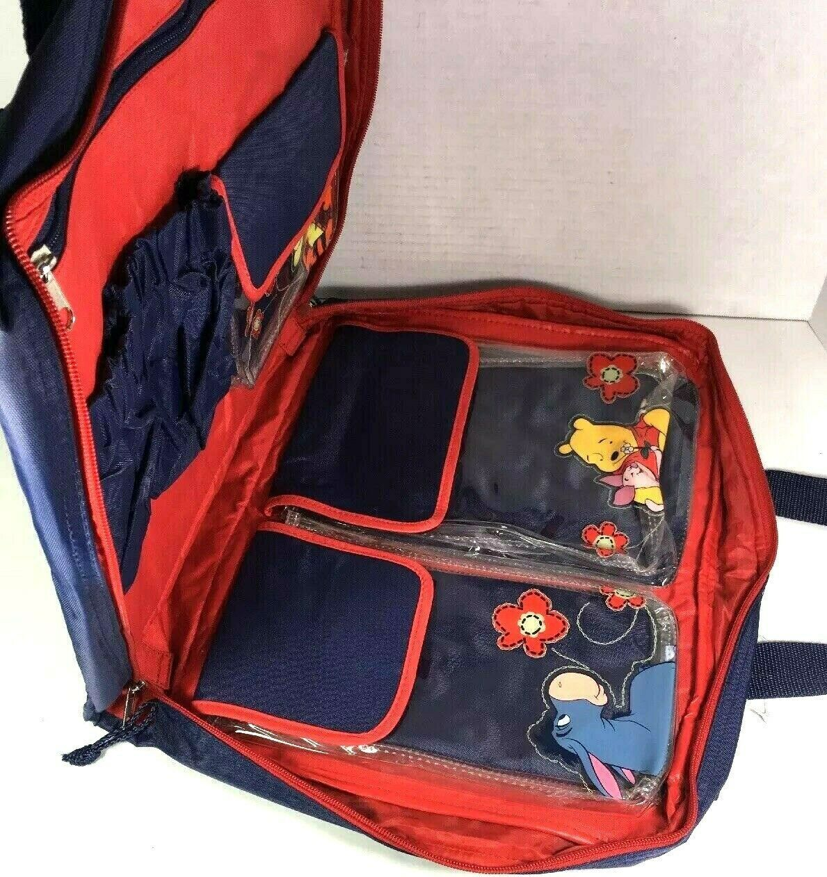 Winnie the Pooh Large Blue Nylon Travel Bag  image 4