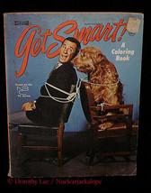 Get Smart Coloring Book 1966 Saalfield Artcraft - $16.99