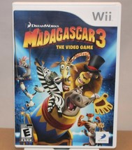 Madagascar 3 - Nintendo Wii - The Video Game - FREE SHIPPING - $10.84