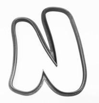 Letter U Uppercase Fancy Stylized Font Alphabet Cookie Cutter USA PR3348 - $2.99