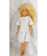 """1999 Mattel Barbie 11 1/2"""" Doll with Bendable Knees - Handmade Outfit - $9.49"""