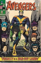 The Avengers Comic Book #30 Marvel Comics 1966 FINE+ - $38.59