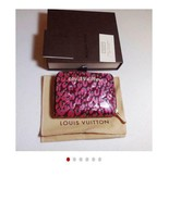 LV Louis Vuitton Verni wallet Zippy Coinpers used ladies small folded wa... - $502.88