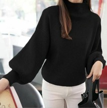 Womens Pullover Sweater Winter Cashmere Stylish FASHION Loose Casual Sle... - $58.99