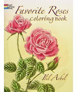 Favorite Roses Coloring Book (Dover Nature Coloring Book) [Paperback] [J... - £4.75 GBP