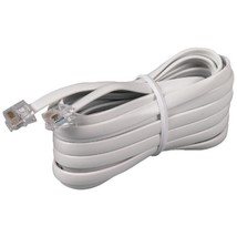 RCA TP231WHR White Phone Line Cord (15ft) - $24.00