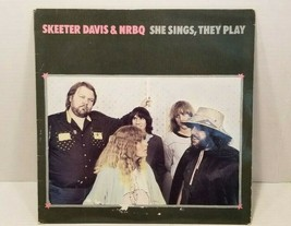 Skeeter Davis & NRBQ She Sings They Play Rounder 3092 Lp Record - $11.88