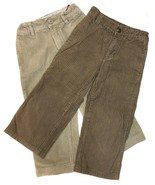 Boys GYMBOREE & GAP KIDS Lot Corduroy Pants Cords Brown Tan Beige 4t 4 T... - $5.15