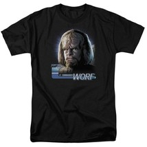Star Trek The Next Generation Sci-Fi LT. Commander Worf graphic t-shirt CBS614 image 1