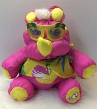 Fisher Price Puffalump 1987 Pink Wild Things RHINO Stuffed Plush / Shirt... - $19.79