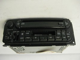 Chrysler PT Cruiser 2003 Radio DC Cassette AM FM OEM - $40.13