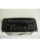 Chrysler PT Cruiser 2003 Radio DC Cassette AM FM OEM - $40.13
