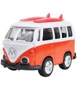 PANDA SUPERSTORE Toy Car Alloy Double Retro Bus Back Car Model Sound Lights - €14,72 EUR